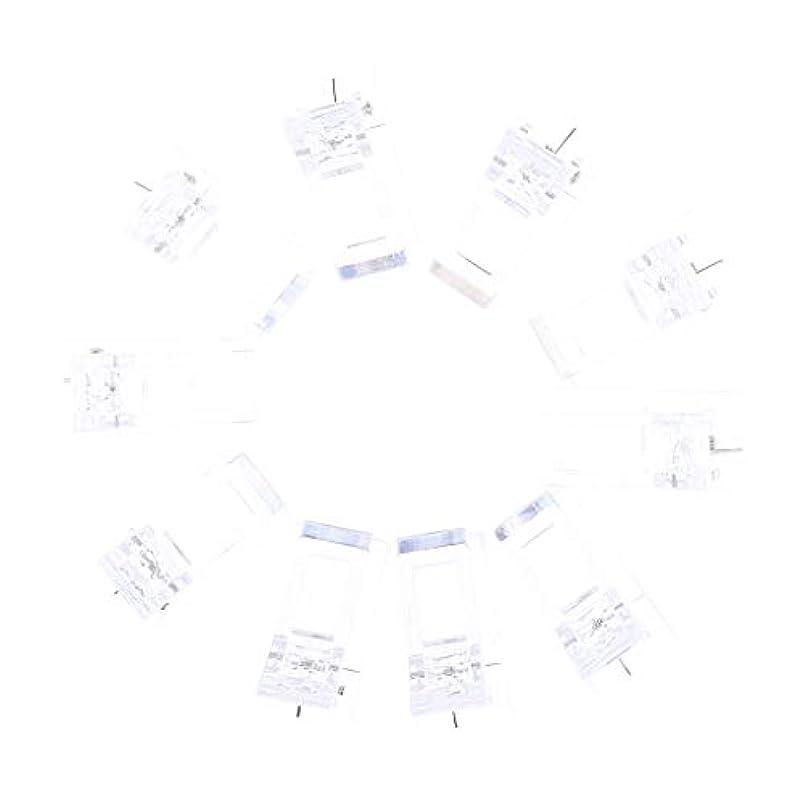 意欲雹名前でIPOTCH 10個セット ジェルネイル エクステンションクリップ ネイルチップ用 プラスチック クリップ