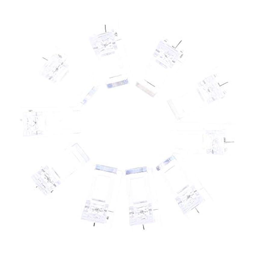年金受給者吐く簡潔なネイルクリップ ネイル固定クリップ ネイルチップ ネイルアート UVゲルビルダツール 10個入り