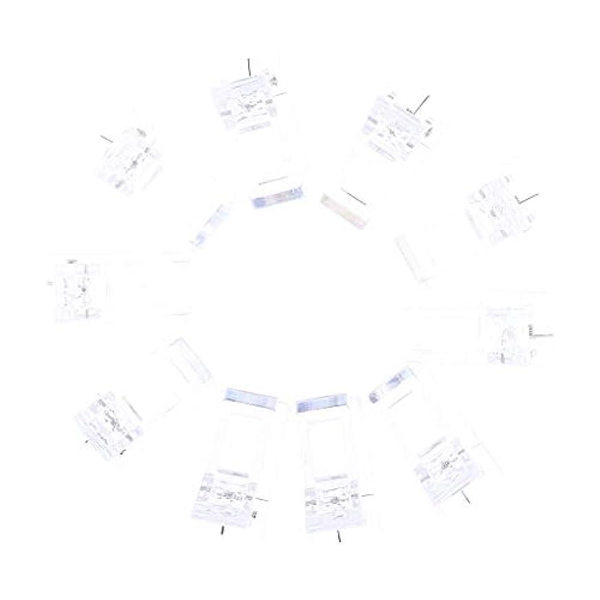 リビングルームフェンス著作権ネイルクリップ ネイル固定クリップ ネイルチップ ネイルアート UVゲルビルダツール 10個入り