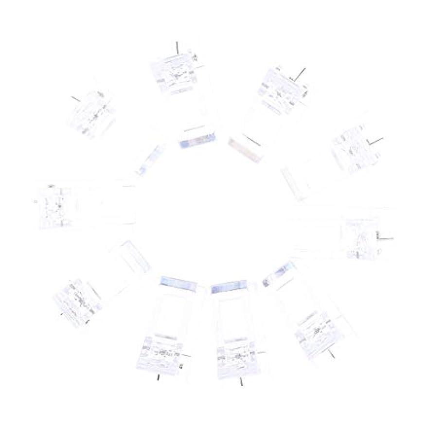 ノーブル交渉する人里離れたIPOTCH 10個セット ジェルネイル エクステンションクリップ ネイルチップ用 プラスチック クリップ