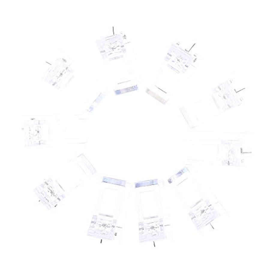 ターゲット摘む滅多IPOTCH 10個セット ジェルネイル エクステンションクリップ ネイルチップ用 プラスチック クリップ