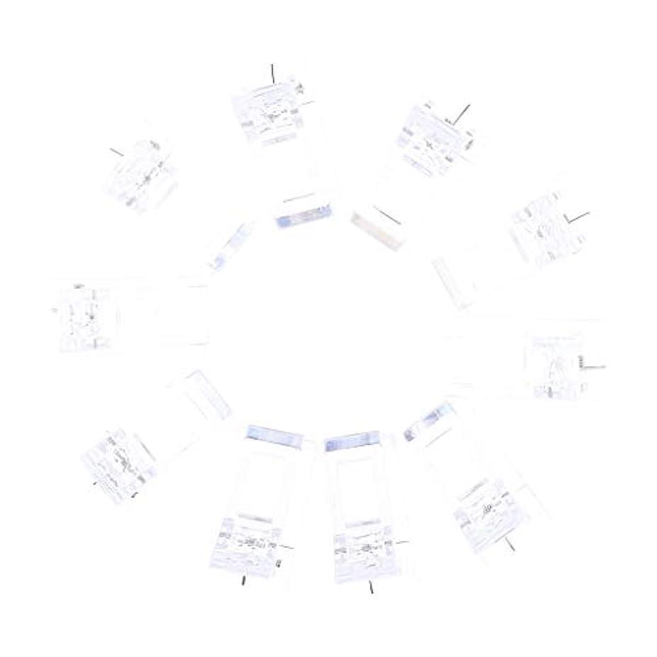 成果教迫害IPOTCH 10個セット ジェルネイル エクステンションクリップ ネイルチップ用 プラスチック クリップ