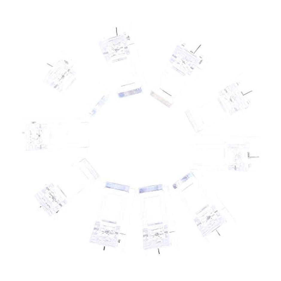 マイル薬用スカリーIPOTCH 10個セット ジェルネイル エクステンションクリップ ネイルチップ用 プラスチック クリップ