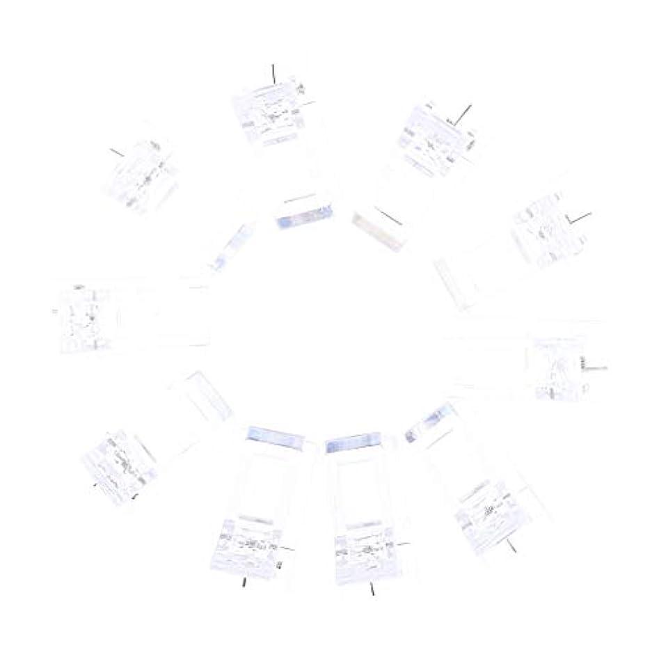 磁気鼻百年Perfeclan ネイルクリップ ネイル固定クリップ ネイルチップ ネイルアート UVゲルビルダツール 10個入り