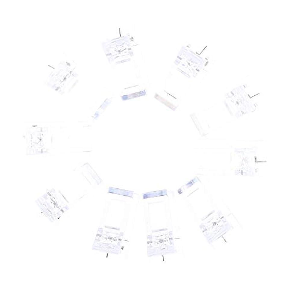 インペリアルフェードアウト行うPerfeclan ネイルクリップ ネイル固定クリップ ネイルチップ ネイルアート UVゲルビルダツール 10個入り