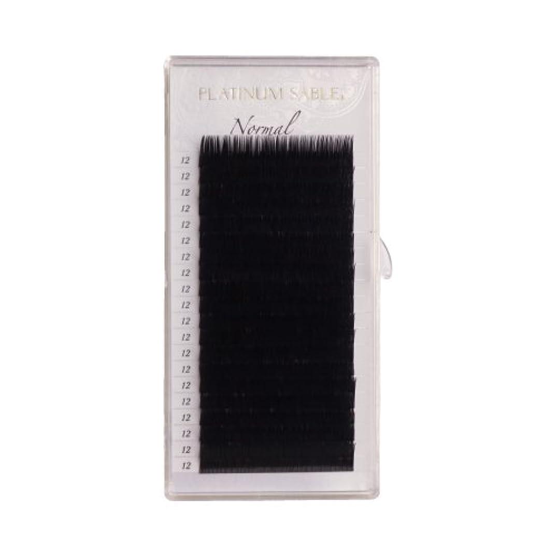 グレー道徳教育カルシウムプラチナセーブル 0.18mm Dカール 15mm