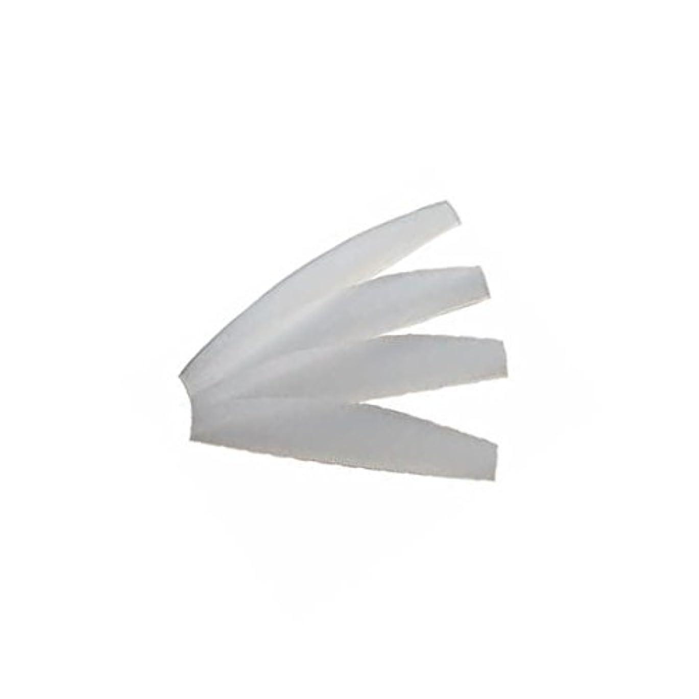 チャネル爪選出する< CKL > 万能シリコンロット L 幅49×奥行9×高さ1.5~2.5mm 20枚 [ まつげカール まつげパーマロッド シリコンロット まつげエクステ まつ毛エクステ まつエク マツエク ]