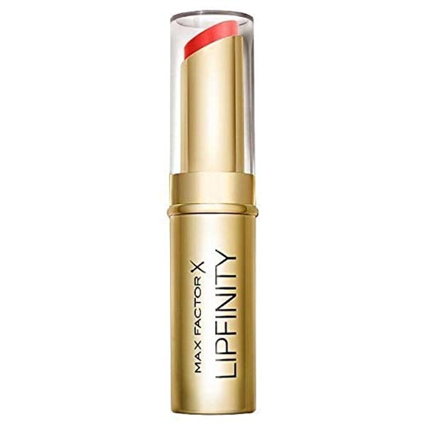 三申請中刺繍[Max Factor ] 長い口紅だけの豪華持続マックスファクターLipfinity - Max Factor Lipfinity Long Lasting Lipstick Just Deluxe [並行輸入品]