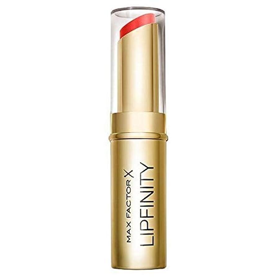 払い戻し拘束する器官[Max Factor ] 長い口紅だけの豪華持続マックスファクターLipfinity - Max Factor Lipfinity Long Lasting Lipstick Just Deluxe [並行輸入品]