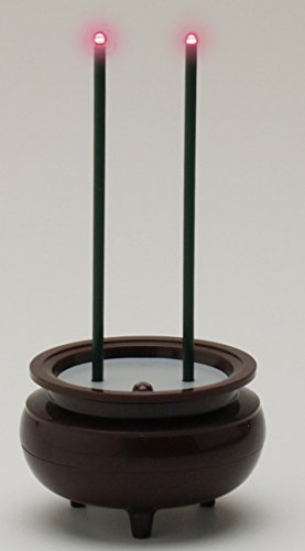 スマイルキッズ 電気線香 安心のお線香 ミニ ブラウン ASE-5201