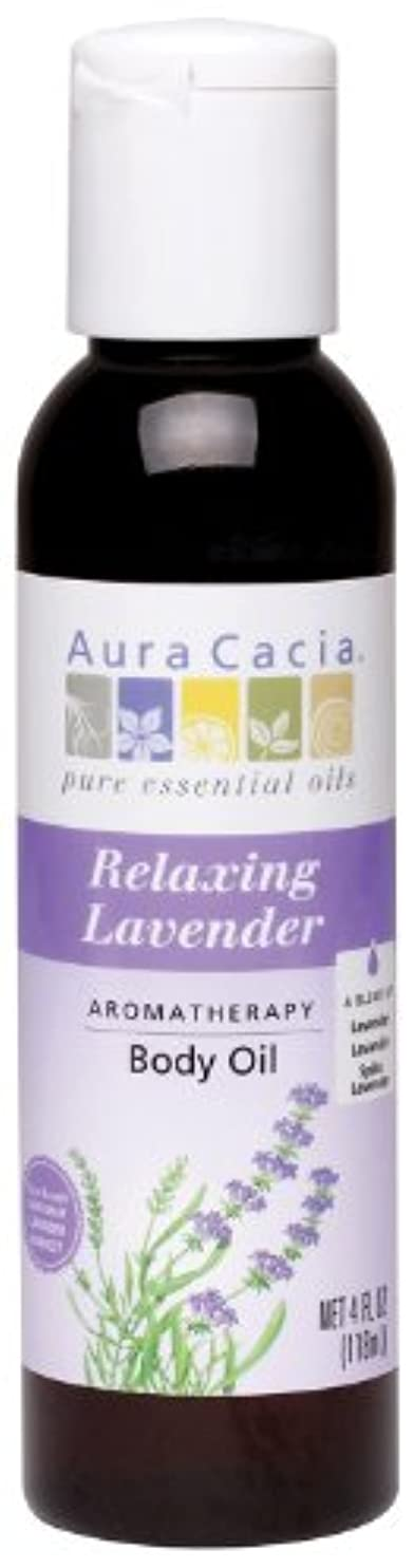 もしデジタルがっかりするAura Cacia Huile de massage Lavender Harvest - Aromathérapie à la lavande - 118 ml
