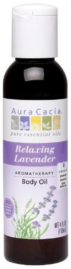 テクトニック福祉天Aura Cacia Huile de massage Lavender Harvest - Aromathérapie à la lavande - 118 ml