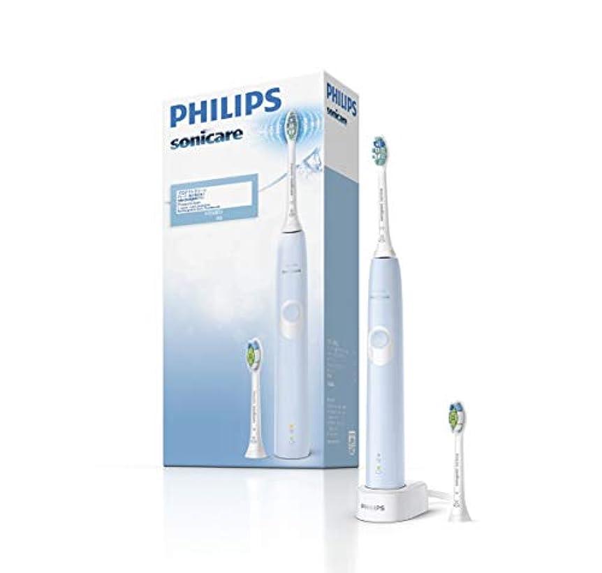 番号変化蛇行フィリップス ソニッケアー プロテクトクリーン 電動歯ブラシ ライトブルー HX6803/66