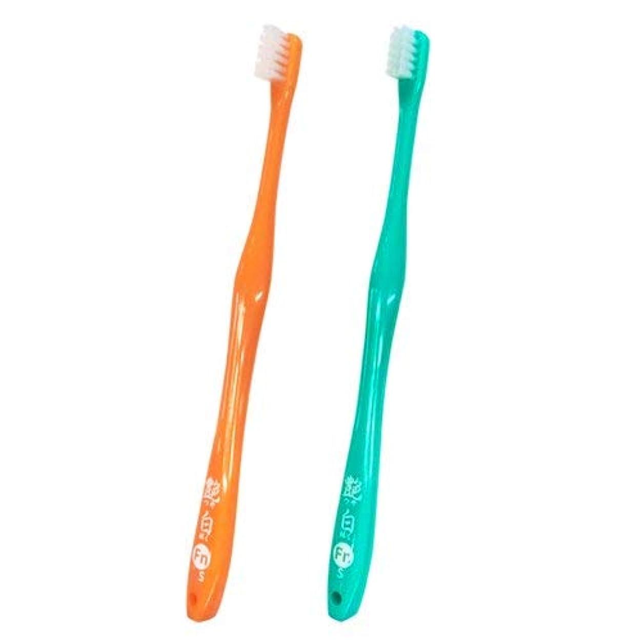 艶白(つやはく) Fn フィニッシュ 仕上げ用 歯ブラシ×10本(S)【日本製】
