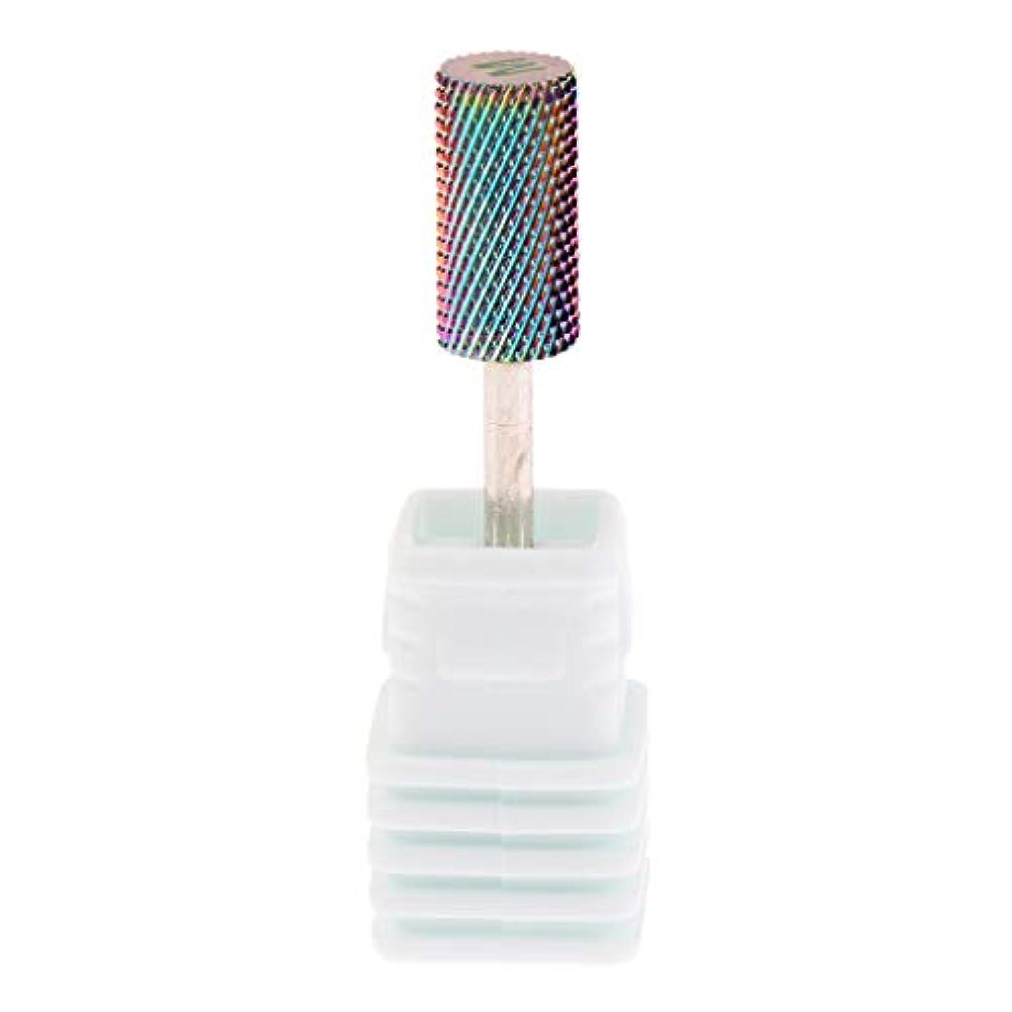 キロメートル分子トレッドPerfeclan 全6サイズ 電気ネイルドリルビット ネイル研削ヘッド 超硬 釘 穴あけツール - M