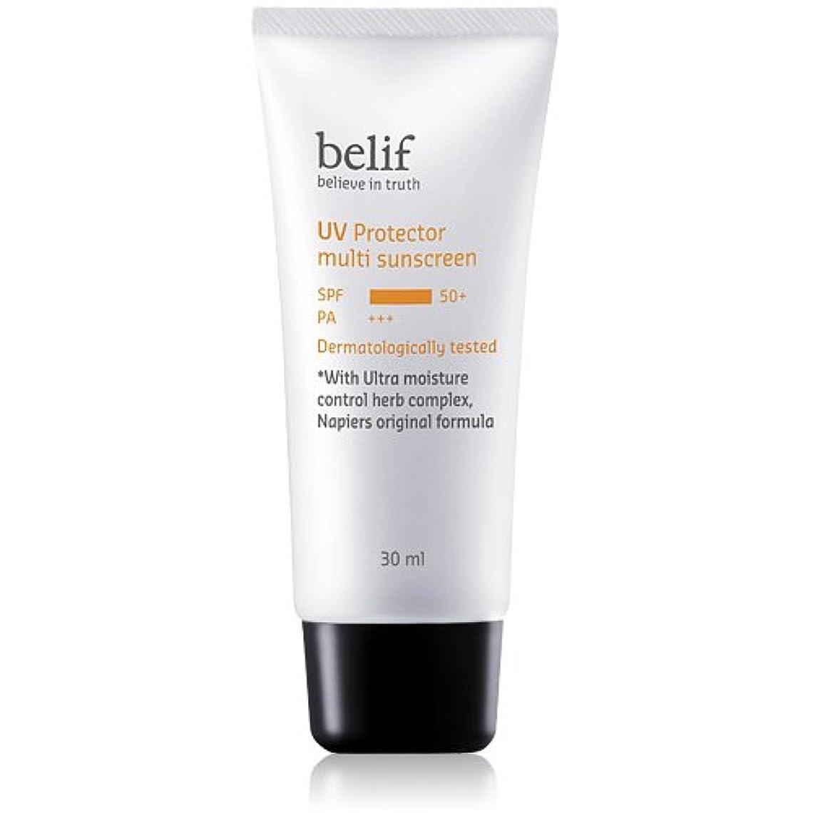 柔らかい足ベリ蓮Belif(ビリーフ)UV Protector Multi sunscreen 30ml/ビリーフUVプロテクターマルチサンスクリーン