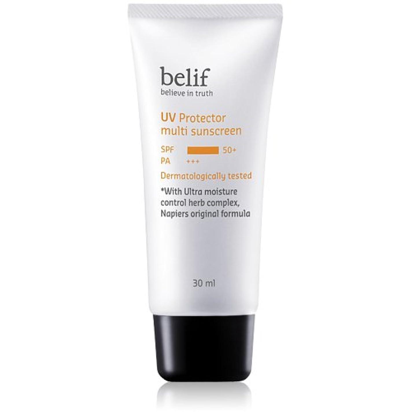 除外する有益な圧力Belif(ビリーフ)UV Protector Multi sunscreen 30ml/ビリーフUVプロテクターマルチサンスクリーン