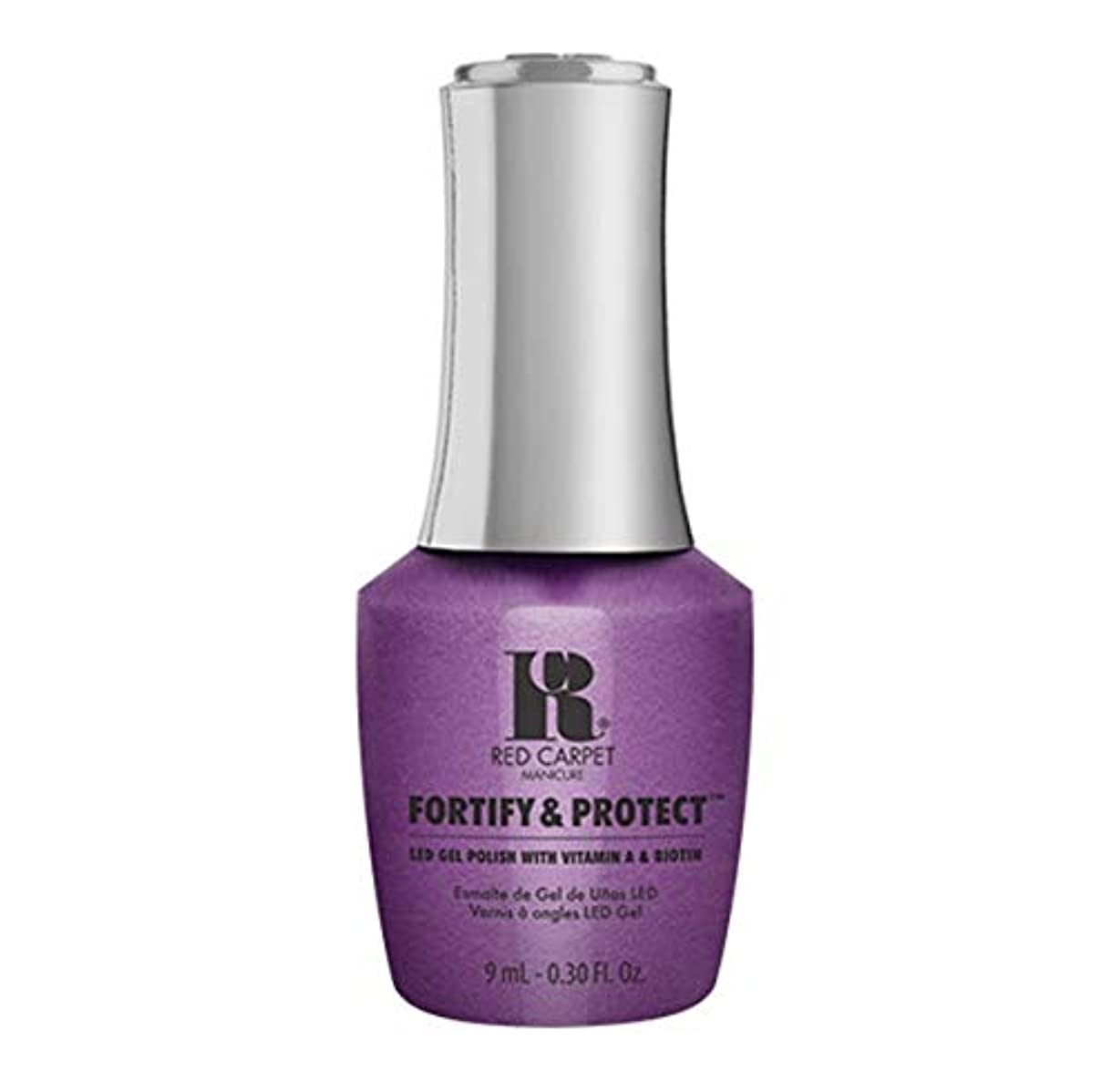 インシデント市の中心部イヤホンRed Carpet Manicure - Fortify & Protect - The Magic Hour - 9ml / 0.30oz