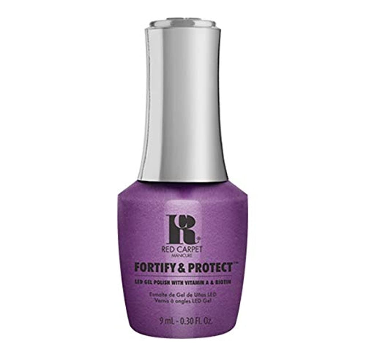 博物館コンチネンタル素晴らしさRed Carpet Manicure - Fortify & Protect - The Magic Hour - 9ml / 0.30oz