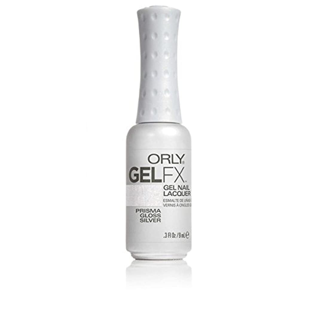 添加胸同行ORLY(オーリー)ジェルFXジェルネイルラッカー 9ml プリズマグロスシルバー#30708