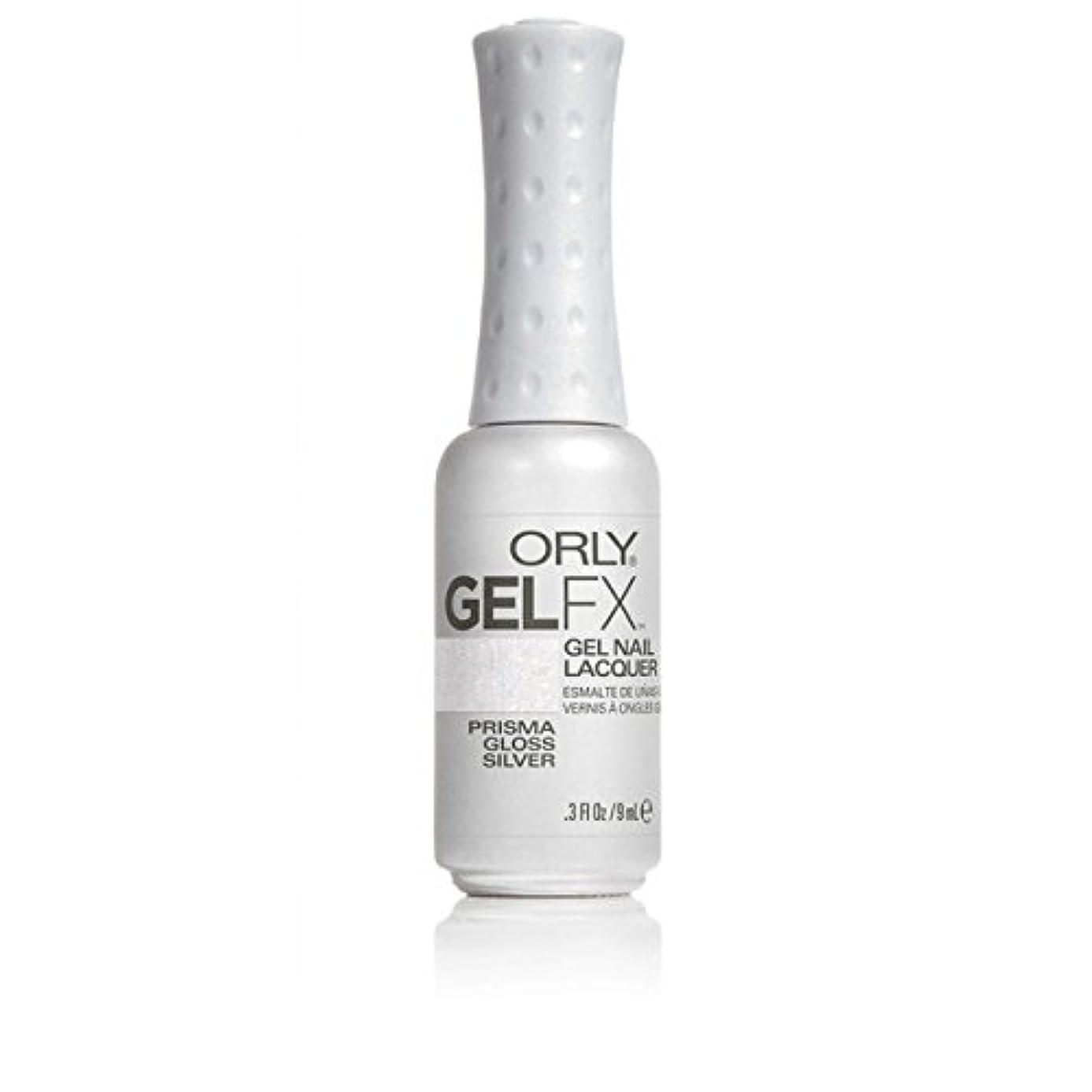 選択医療過誤八百屋ORLY(オーリー)ジェルFXジェルネイルラッカー 9ml プリズマグロスシルバー#30708