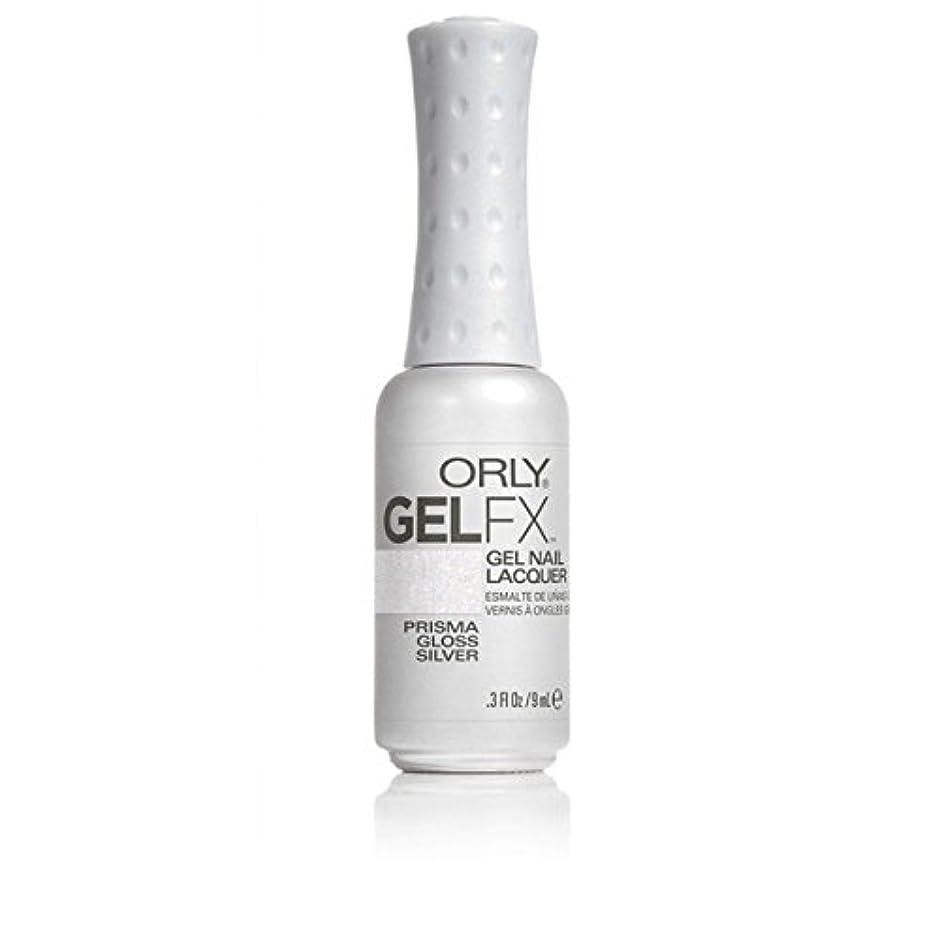 代替酔った反論者ORLY(オーリー)ジェルFXジェルネイルラッカー 9ml プリズマグロスシルバー#30708