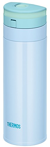 サーモス 水筒 真空断熱ケータイマグ 【ワンタッチオープンタイプ】 350ml ブルー JNS-350 BL