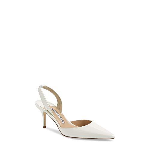 [マノロブラニク] レディース シューズ・靴 パンプス 'Carolyne' Pointy Toe Slingback Pump [並行輸入品]
