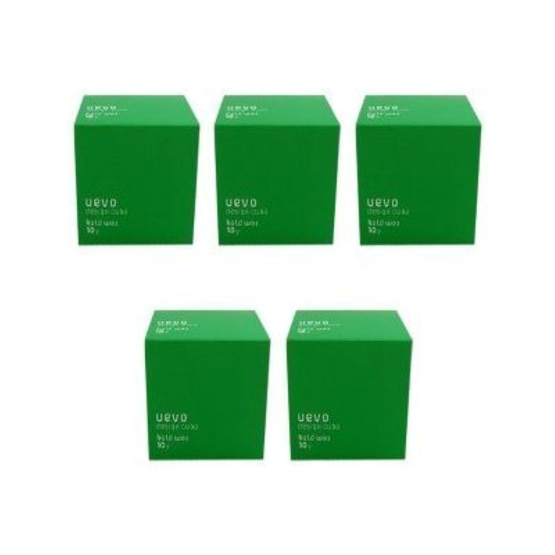 造船ビタミンエンジニアリング【X5個セット】 デミ ウェーボ デザインキューブ ホールドワックス 80g hold wax DEMI uevo design cube