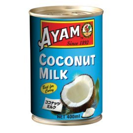 アヤム ココナッツミルク 400ml×12個 【ケース販売】