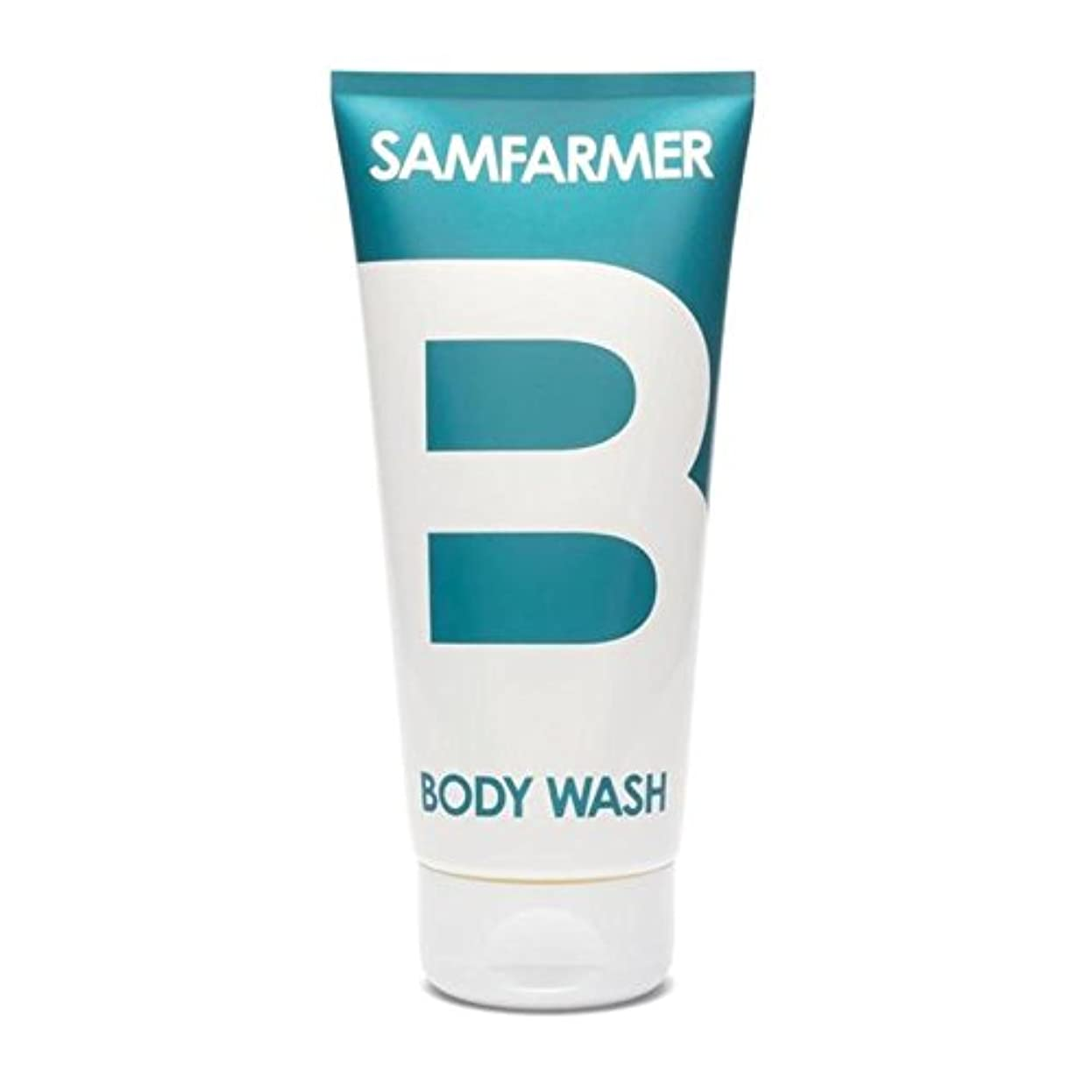 名誉ある一定グローバルユニセックスボディウォッシュ200ミリリットル x4 - SAMFARMER Unisex Body Wash 200ml (Pack of 4) [並行輸入品]