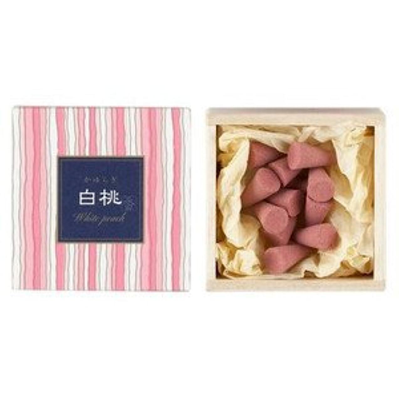 くるみ消毒剤大学日本香堂 かゆらぎコーン 白桃