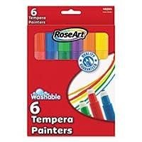 RoseArt Washableテンペラ画画家、盛り合わせ、6Per Set 48344aa12