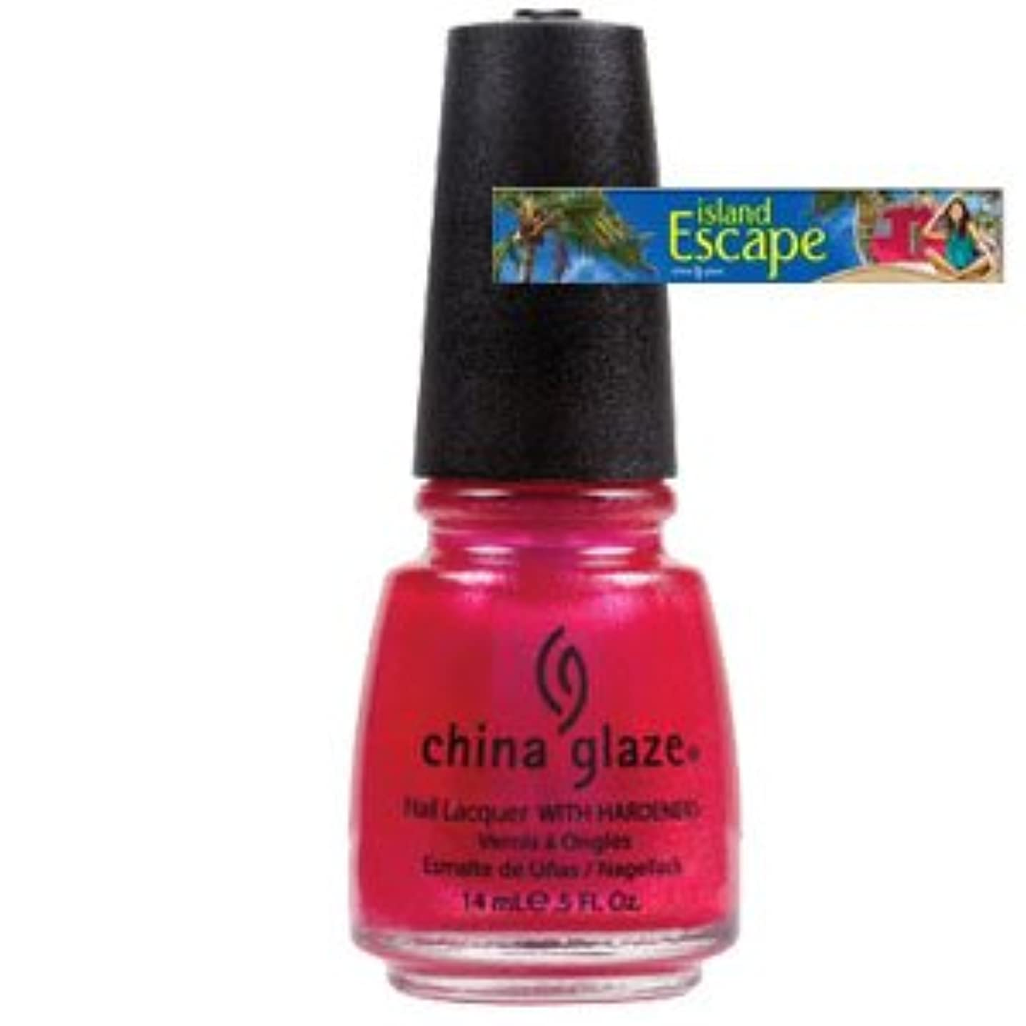 敬な農夫気になる(チャイナグレイズ)China Glaze アイランドエスケープコレクション?108 Degrees [海外直送品][並行輸入品]
