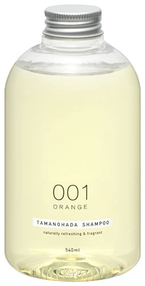 掃く潜む敬意を表するタマノハダ シャンプー 001 オレンジ 540ml