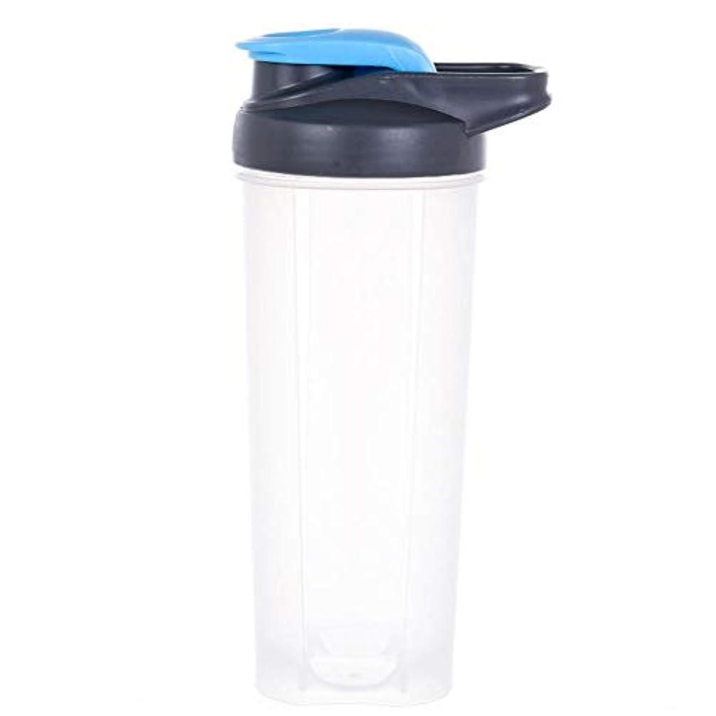 要件シートに賛成ハンドル 蛋白質 粉 飲料 薬 混合の撹拌のびんが付いている 水差しの振動のコップ