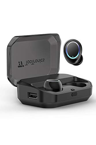 TaoTronics ワイヤレスイヤホン Bluetooth イヤホン 完全 ワイヤレス IPX7 Bluetooth 5.0 120時間音楽再生 ...