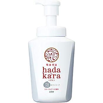 hadakara(ハダカラ) ボディソープ 泡タイプ フローラルブーケの香り 本体550ml
