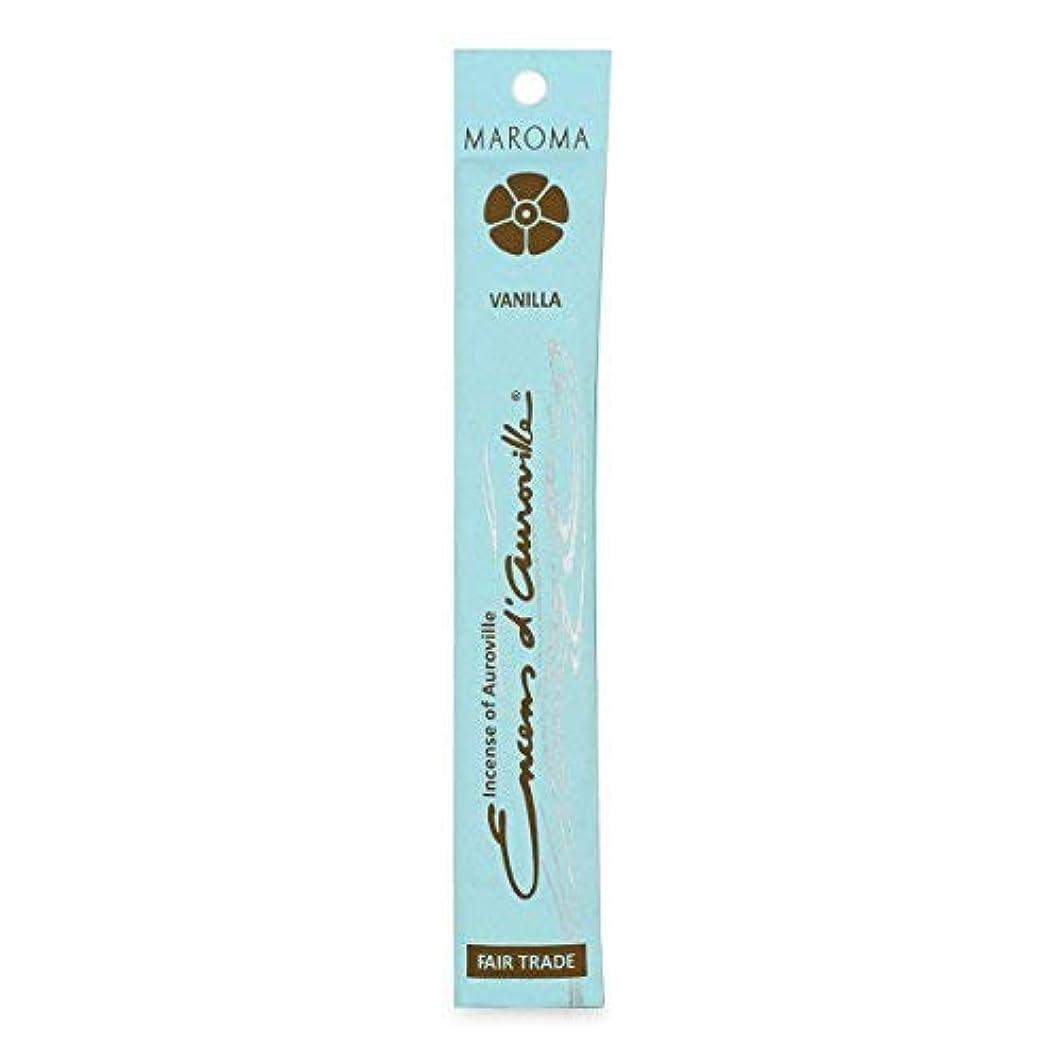 オーバーフロー桁ぬれたMaroma Vanilla Incense 10 sticks [並行輸入品]