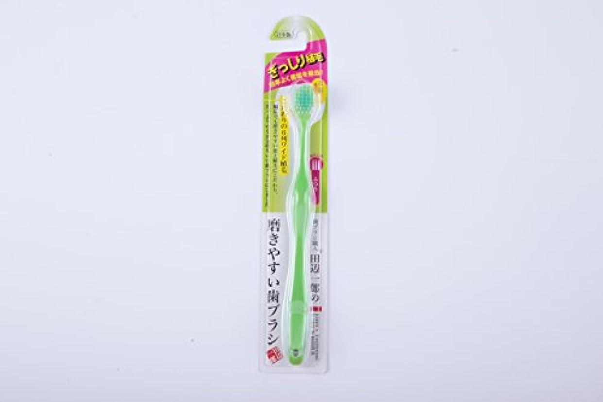 大西洋人種なめるライフレンジ 磨きやすい歯ブラシ ワイド ふつう 1本