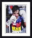 【直筆サイン入り】Framed Manny Pacquiao Autographed photo