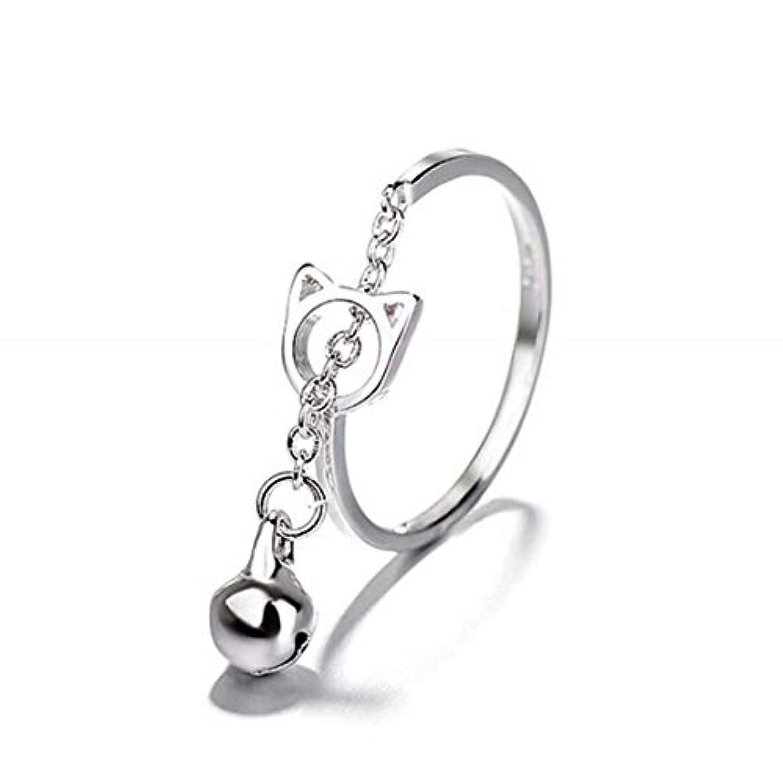 認可ブラジャーマークダウン七里の香 キャットベル リング オープンリング 指輪 フリーサイズ リング レディース 結婚 リング アクセサリー 記念日誕生日 バレンタイン プレゼント