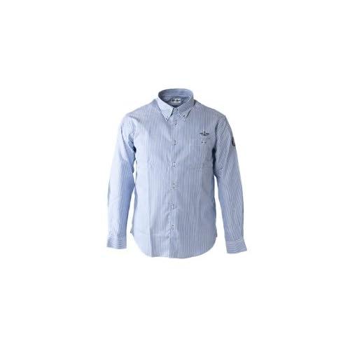 (シナコバ) SINA COVA ボタンダウンシャツ ブルー系 Mサイズ