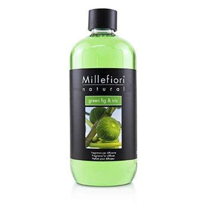 見ました失態行進ミッレフィオーリ Natural Fragrance Diffuser Refill - Green Fig & Iris 500ml/16.9oz並行輸入品