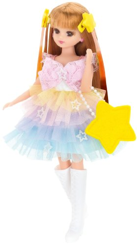 リカちゃん ドレス トリプルカラーチェンジドレスセット トゥインクルスター