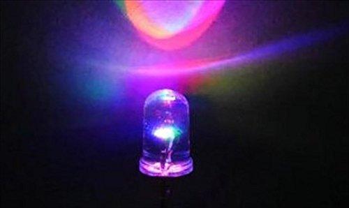 フルカラー LED イルミネーション RGB 直径 5mm ...