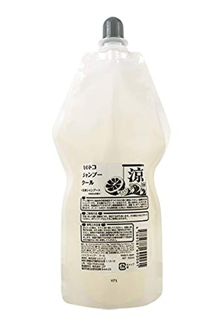 安全謝罪心からフレッシュな『みかん(リモネン高配合)』の香りが心地良い弱酸性全身シャンプー メントールのクールな爽快感 いいトコシャンプークール 500ml詰替用