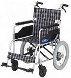 《福祉用具JIS》 日進医療器 NEO-2 アルミ製介助用車椅子*ノーパンクタイヤ仕様