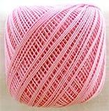 ダルマ レース糸#40 紫野 5ピンク