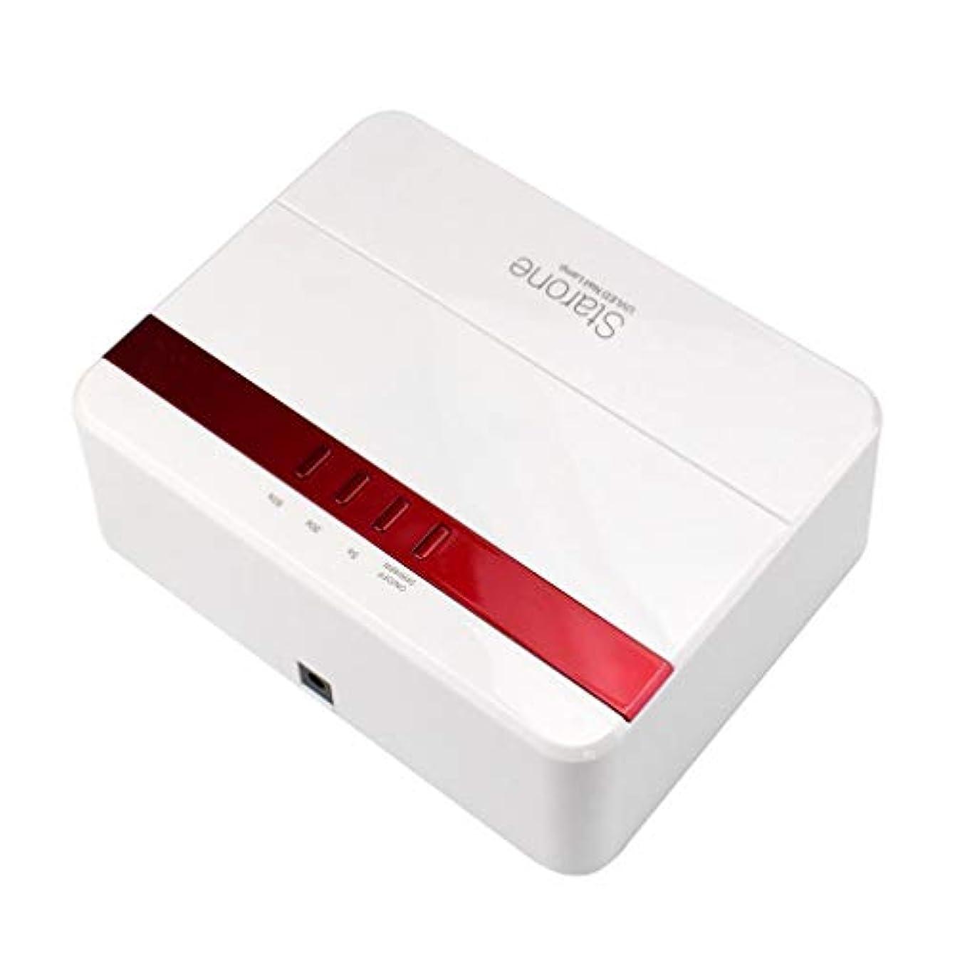 確認するショッピングセンター生き返らせるスマートUV/LEDネイルライト、速乾性ネイルドライヤー、24 / 48Wデュアルパワーネイルドライヤー、ゲル研磨用自動センサー、健康的で無害